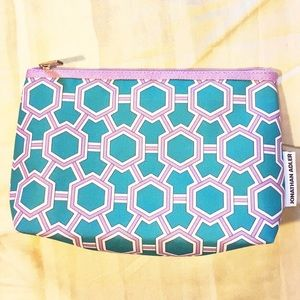 NWOT Jonathan Adler Clinique Cosmetics Bag